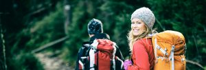 outdoor therapy hikers