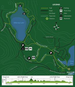 Killarney Lake Trail Map