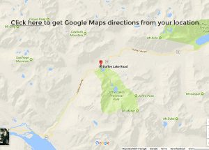 Directions to Joffre Lakes
