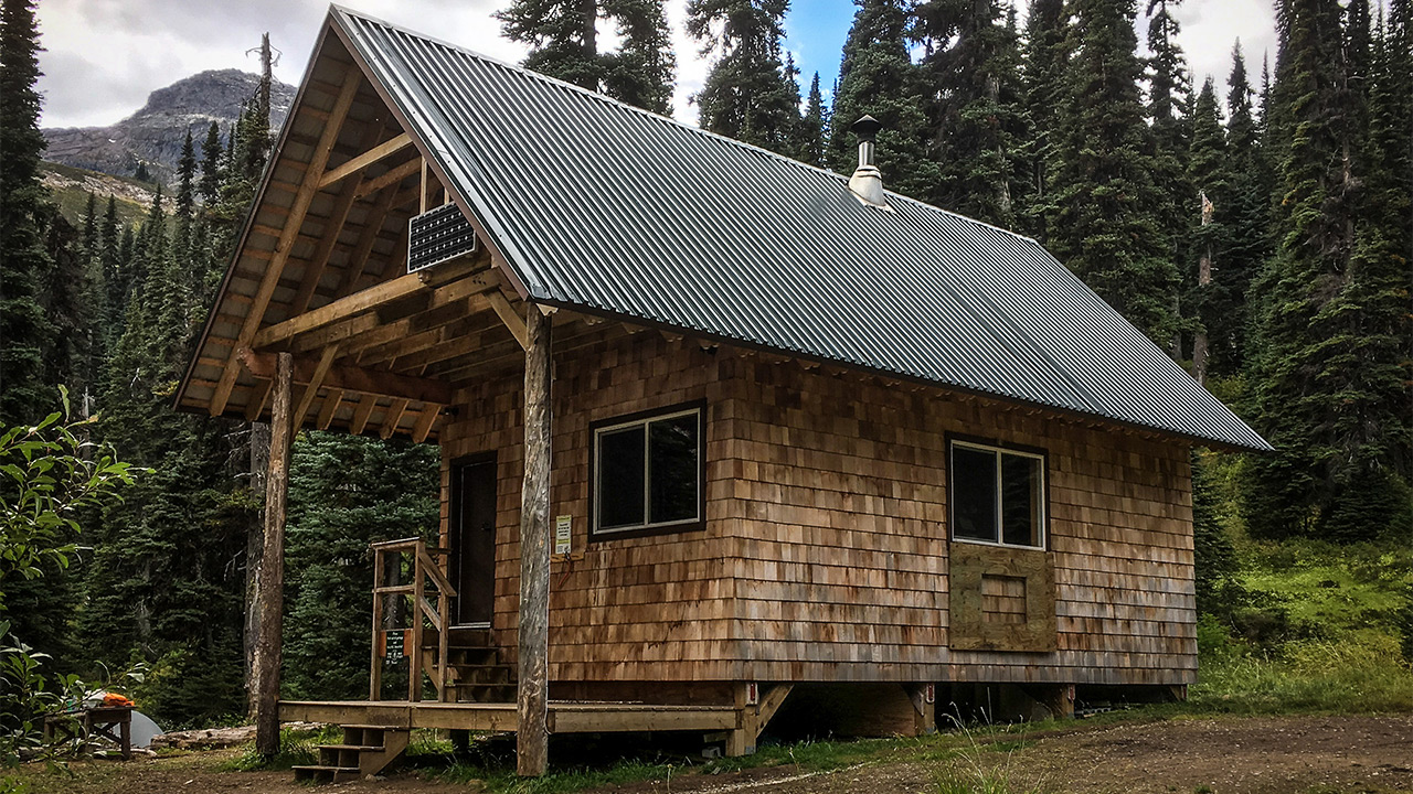 Tenquille Lake Cabin