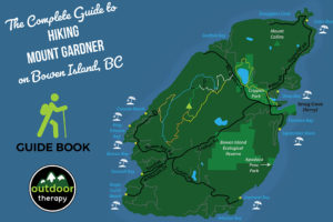Map of Mount Gardner Trails