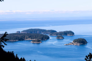 Ragged Island, View from Mt. Gardner Hike
