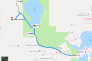 Driving Directions to Hiker's Road Trailhead