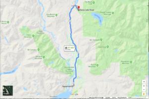 Directions to Garibaldi Lake Trailhead (Rubble Creek)
